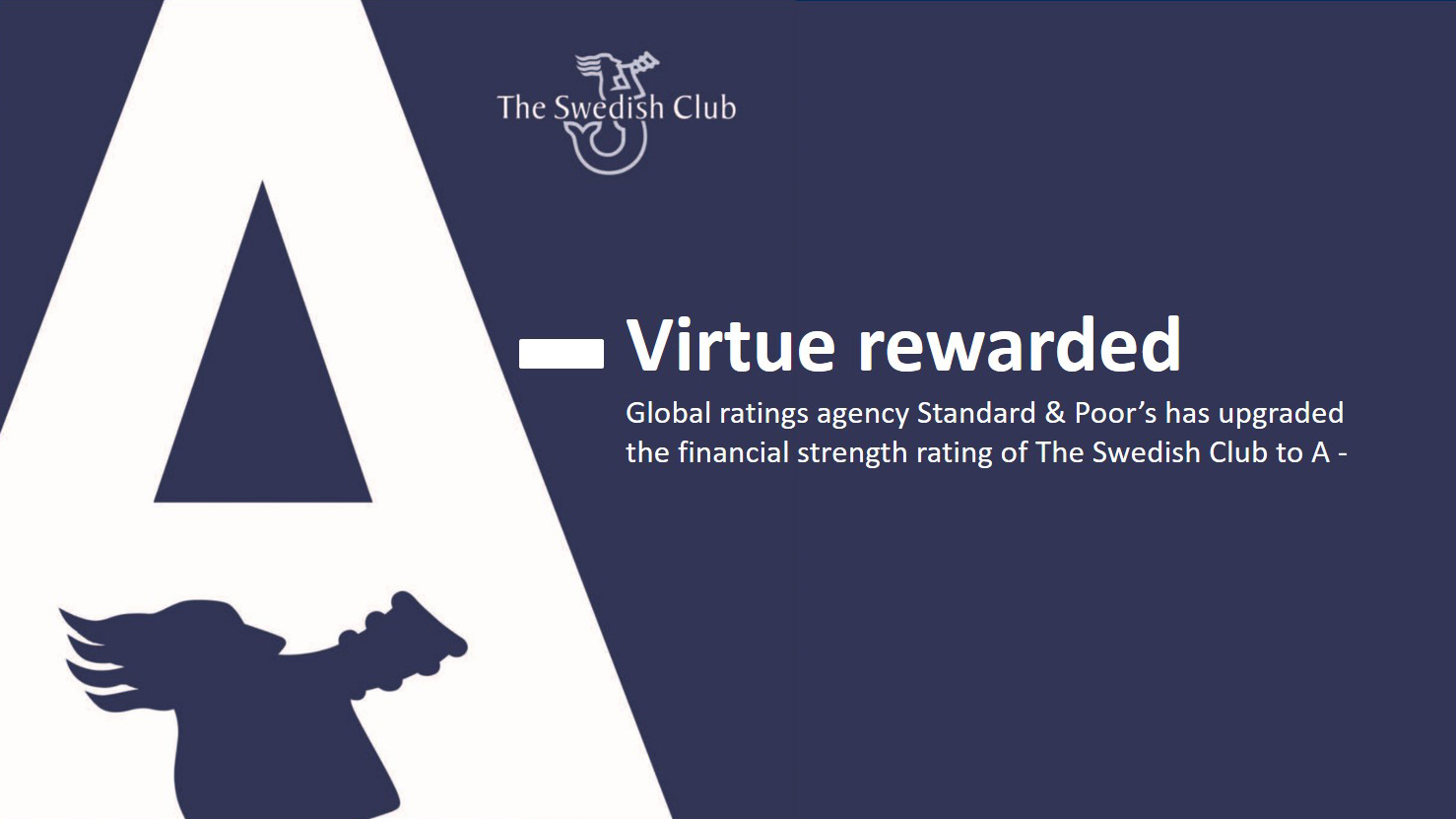 A- rating Virtue rewarded