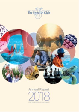 The Swedish Club's Annual Report 2018