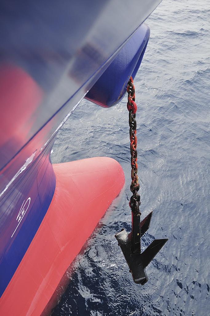 Ship anchoring