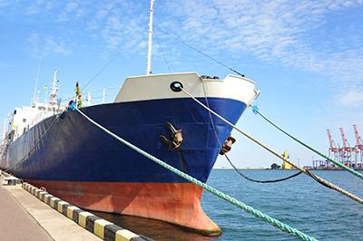 ship at berth