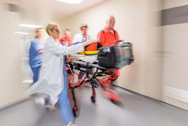 Paramedic at ER