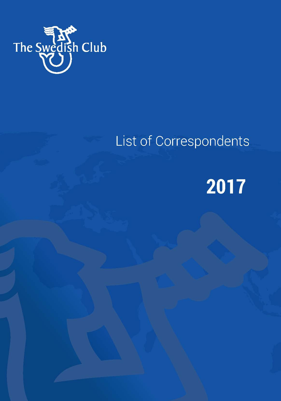 List of Correspondents