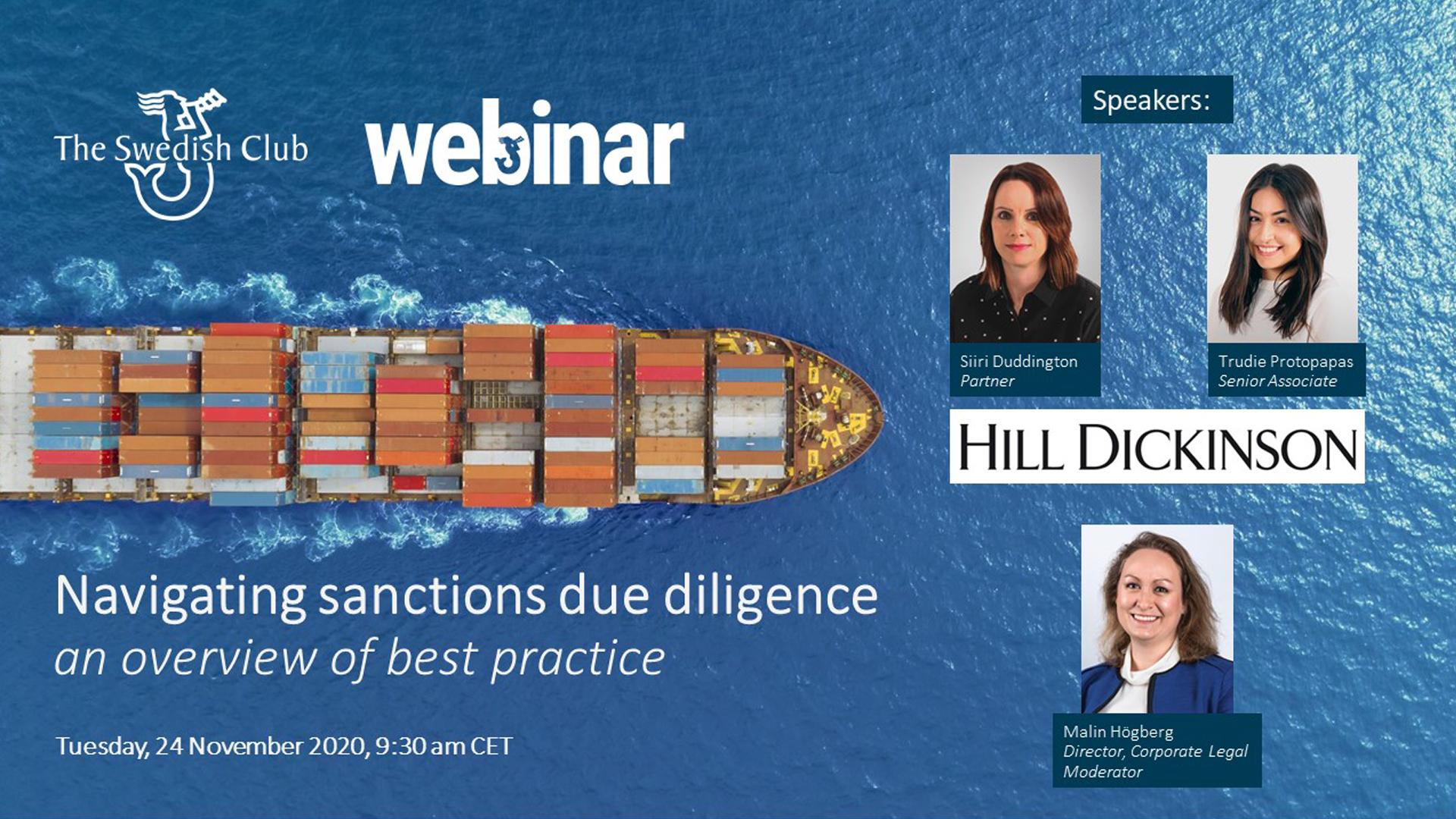 Image of sanctions webinar