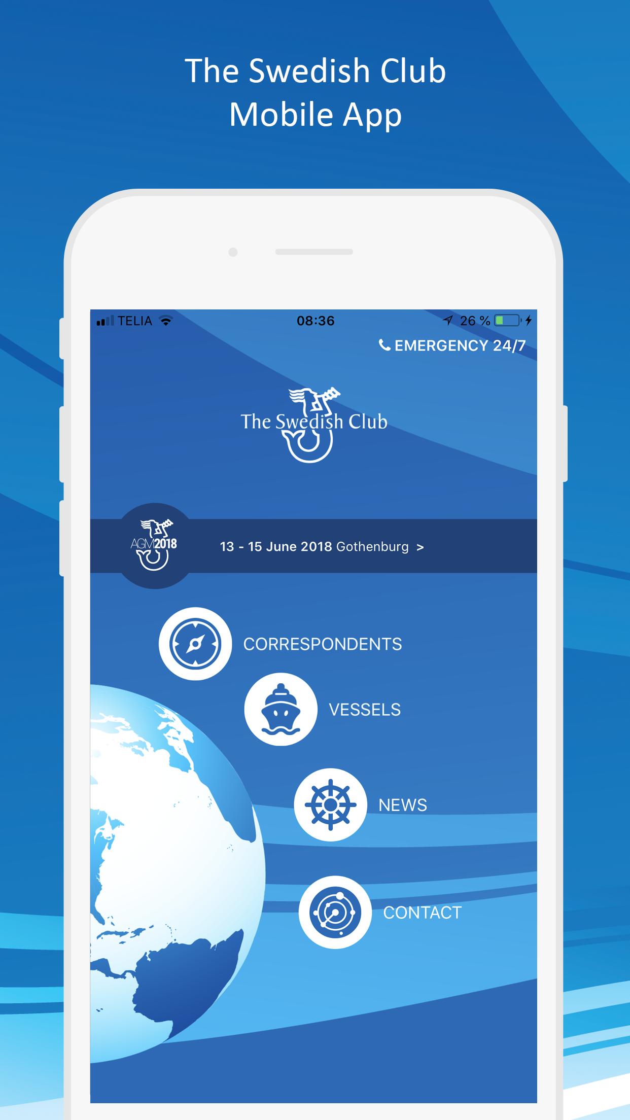 The Swedish Club App
